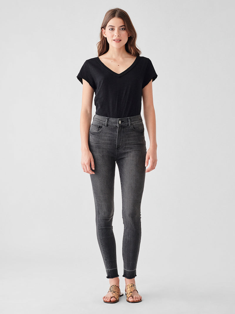 Farrow Crop High Rise Instasculpt Skinny | Sterling
