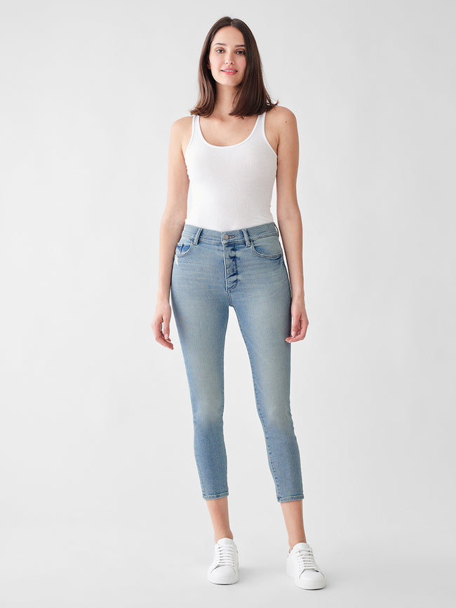 Farrow Skinny High Rise Instasculpt Crop | Sterling