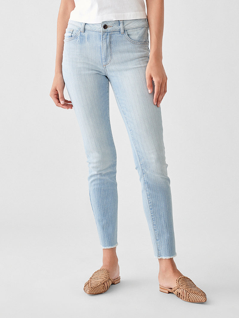 Florence Crop Mid Rise Skinny | Vacarro