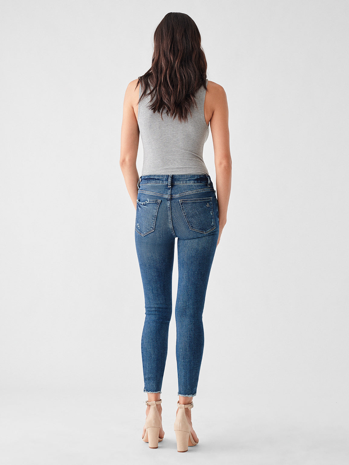 Florence Ankle Mid Rise Skinny | Hamilton