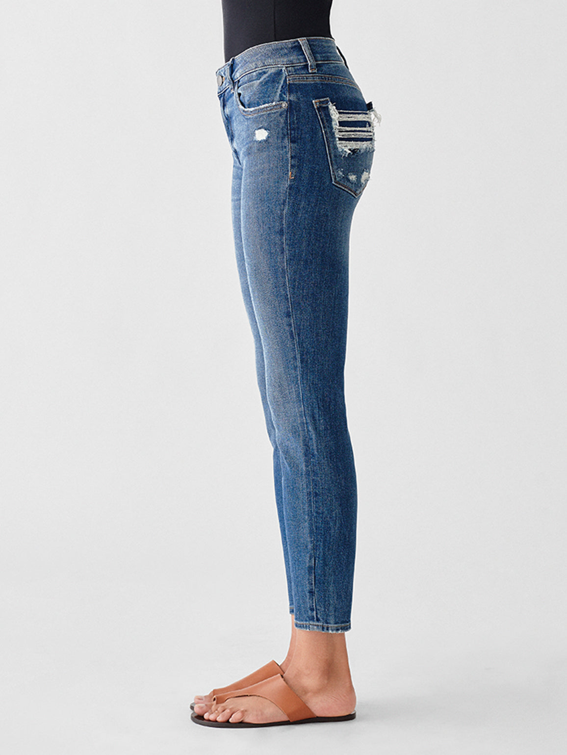 Florence Crop Mid Rise Skinny | Welton