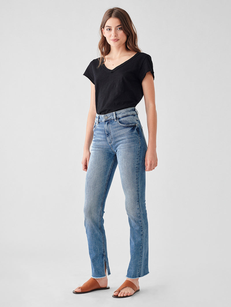 Susie High Rise Tapered Slim | Rollands