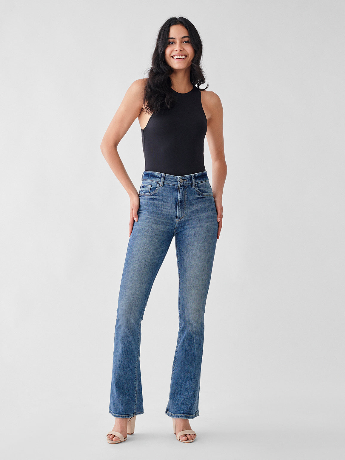 Bridget High Rise Bootcut | Mccartney