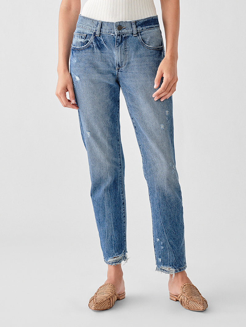 Jerry High Rise Vintage Straight | Westbrook