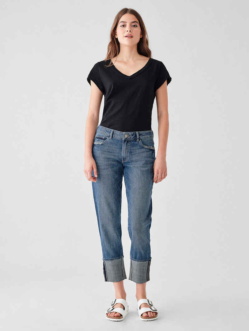 Jerry Straight High Rise Vintage Crop | Baldwin