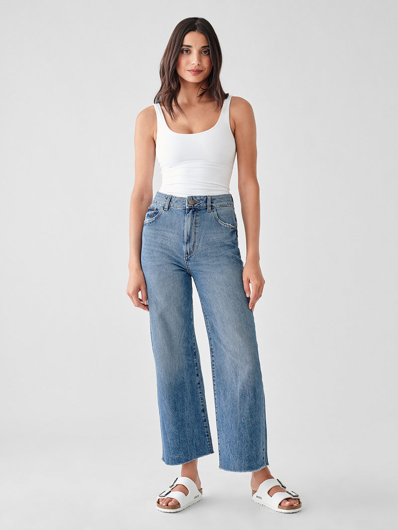 Bridget Crop High Rise Corduroy Bootcut | Wyoming