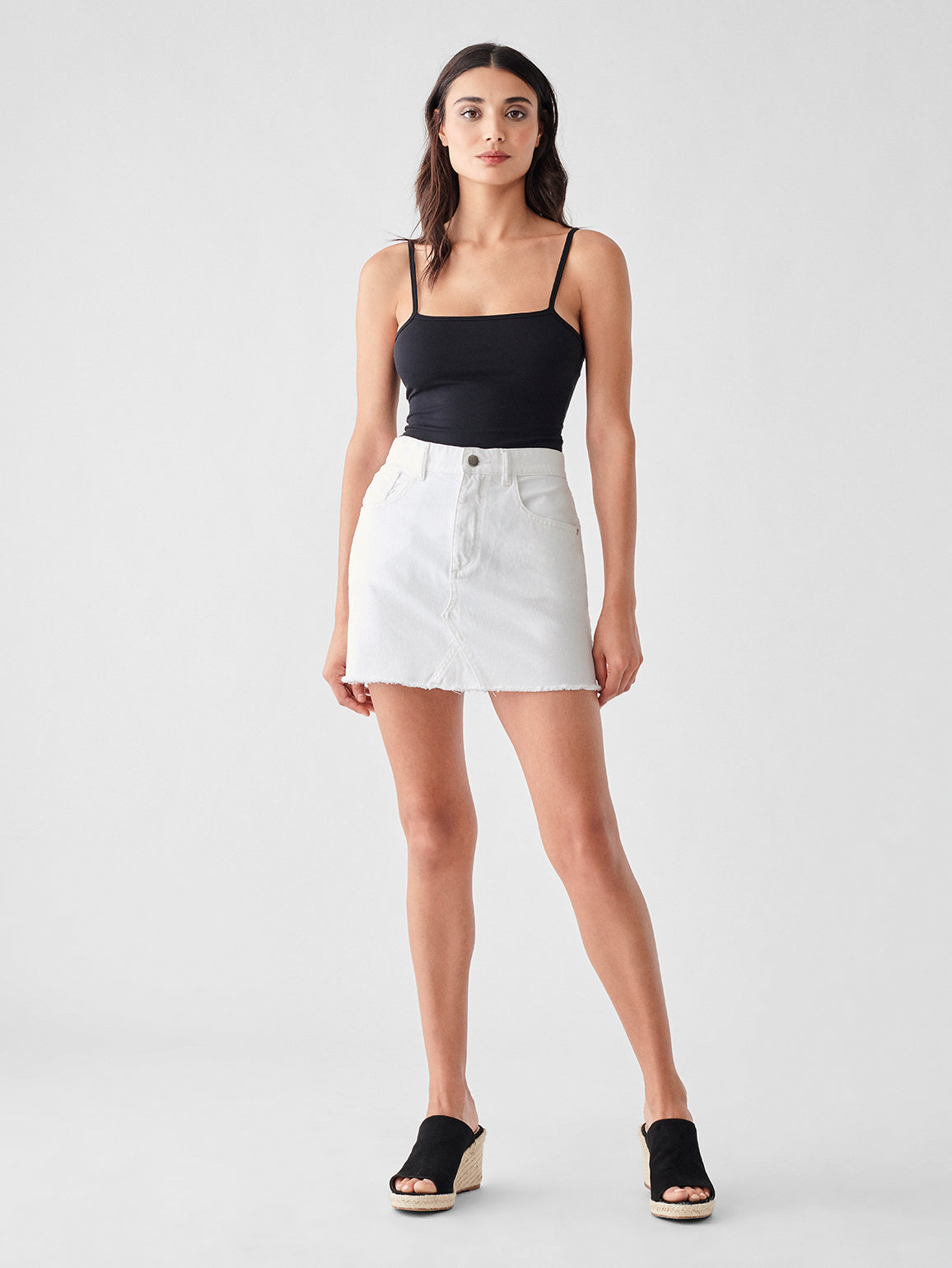 Devin Mini Skirt | Whitehall