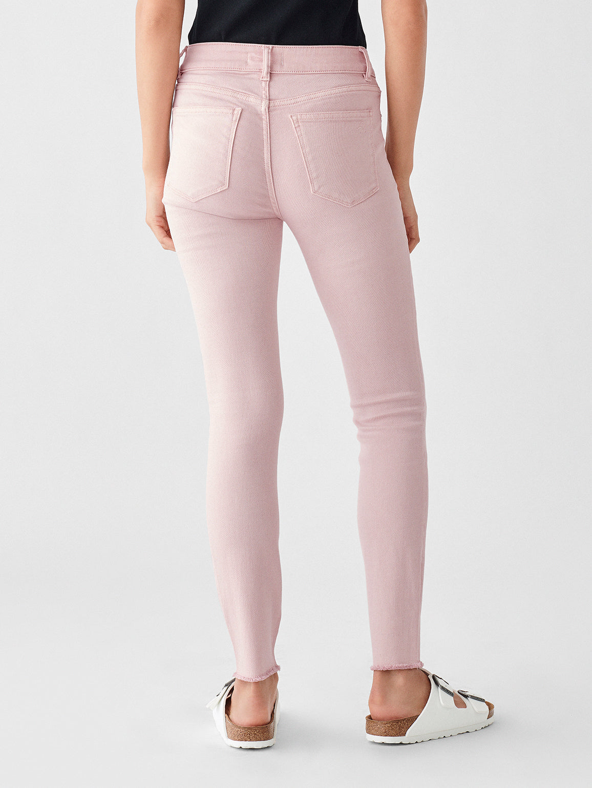 Florence Ankle Mid Rise Skinny | Camellia