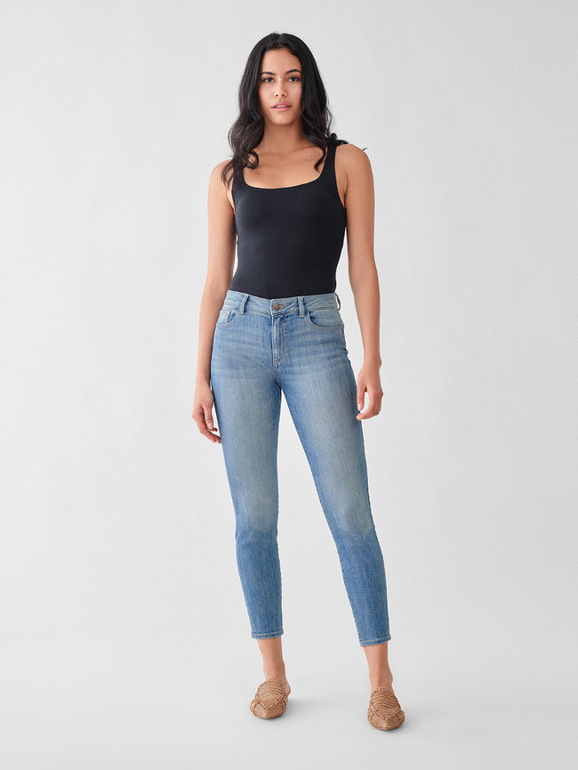 Florence Crop Mid Rise Instasculpt Skinny | Gordon