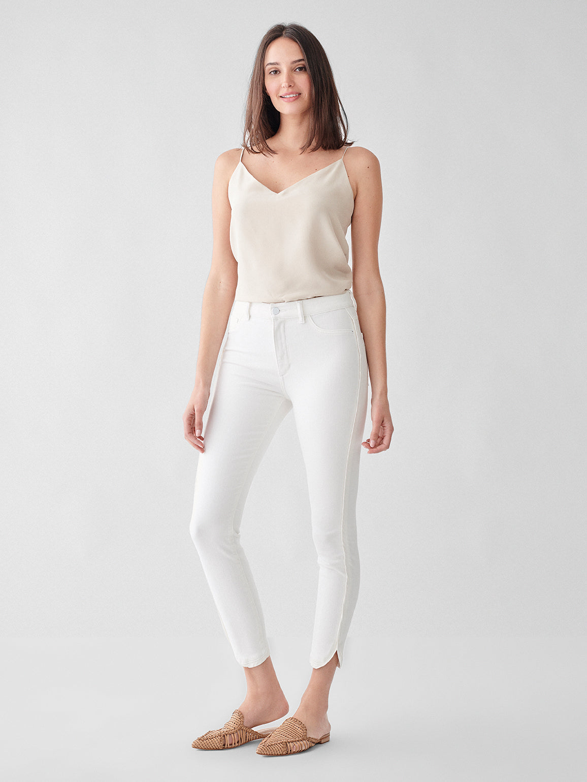 Farrow Crop High Rise Instasculpt Skinny | Quill