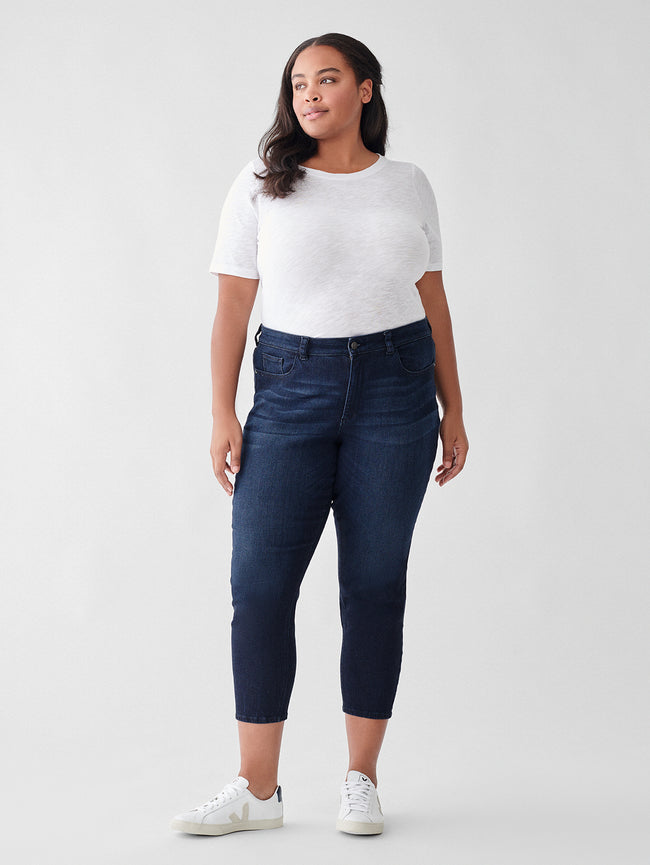 Florence Cropped Mid Rise Instasculpt Skinny Inclusive | Hillside