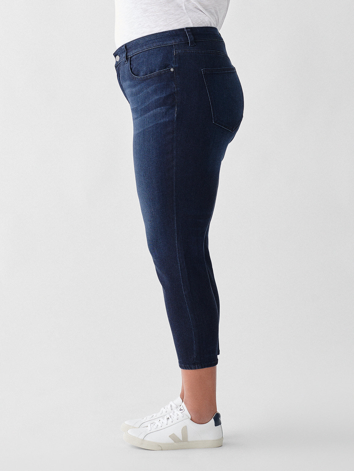 Florence Cropped Mid Rise Skinny Inclusive | Hillside