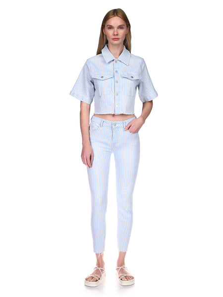 Florence Skinny Mid Rise Instasculpt Crop | Shipmate