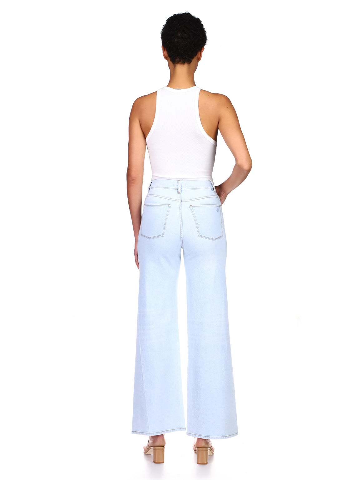 Hepburn Wide Leg High Rise Vintage 31"