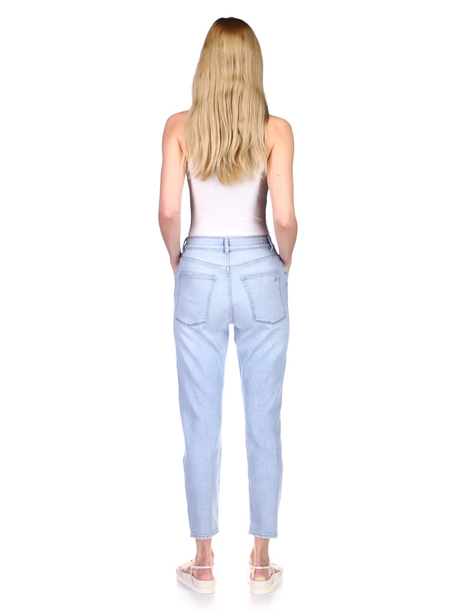 Susie Tapered High Rise | Lt. Seaglass Distressed