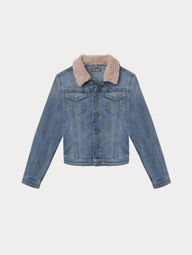 Kids Jacket - Manning Jacket | Breaker Blue - DL1961