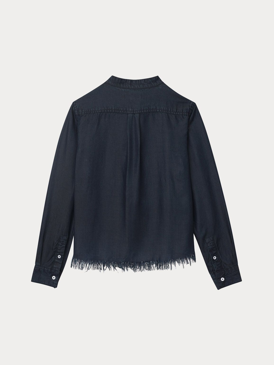 Girls - Marnie Long Sleeve Top | Washed Black Overdye - DL1961