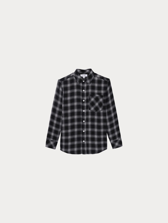 Toddler Jacket - Ash Toddler Unisex Shirt | Black Plaid - DL1961