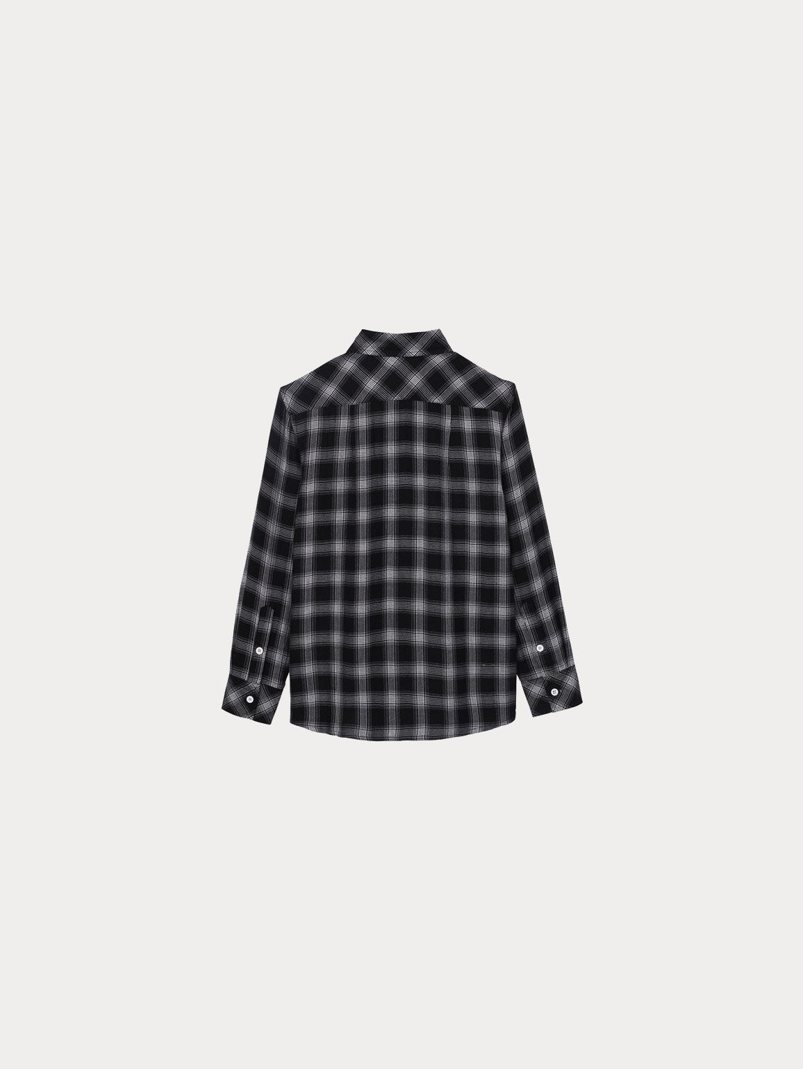 Ash Toddler Unisex Shirt | Black Plaid - DL1961