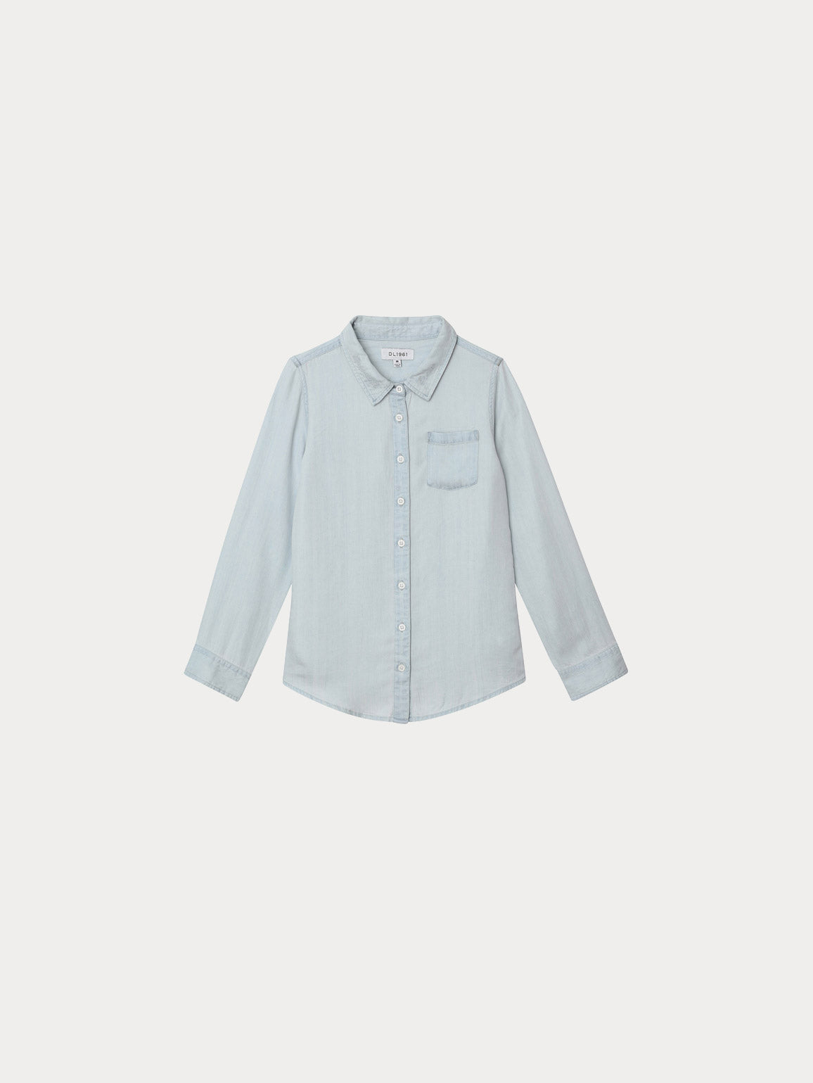 Toddler Jacket - Olivia Toddler Shirt | Bleached - DL1961