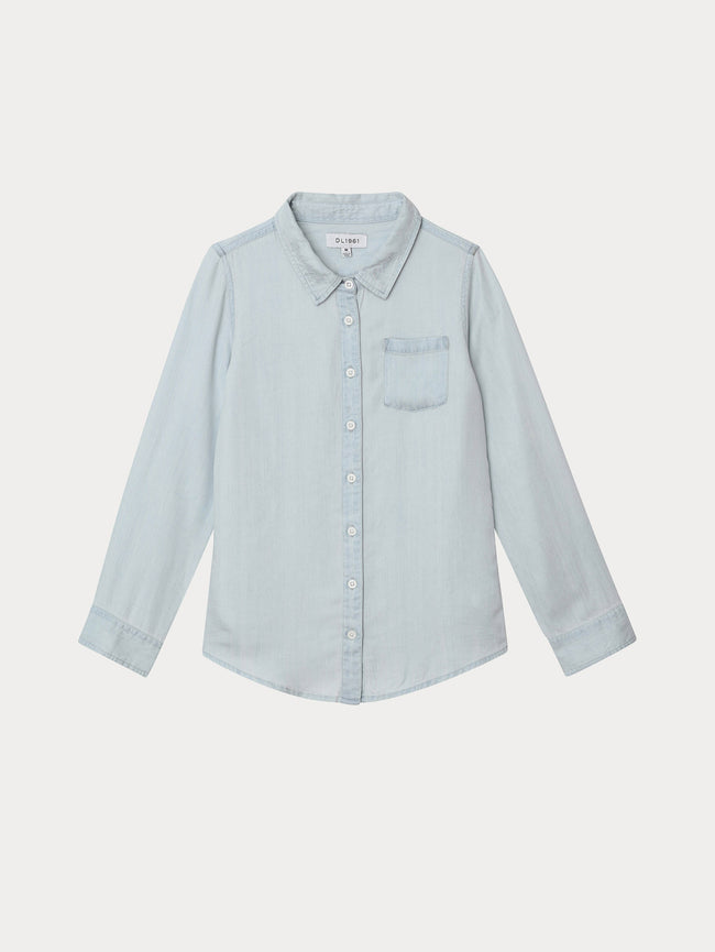 Girls - Olivia Shirt | Bleached - DL1961