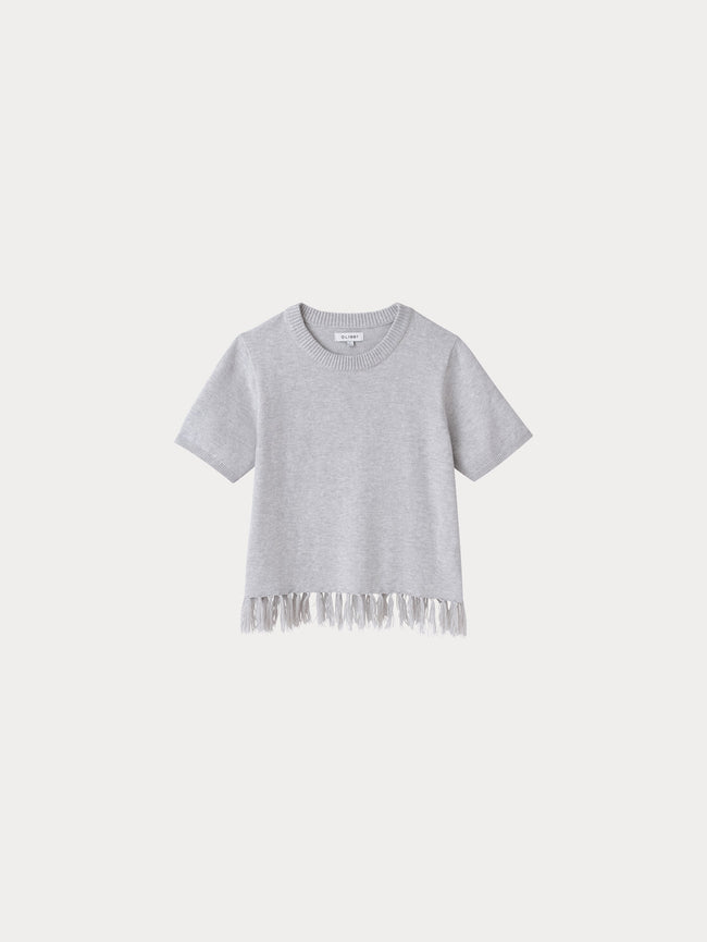 Ella Toddler Sweater | Light Grey - DL1961
