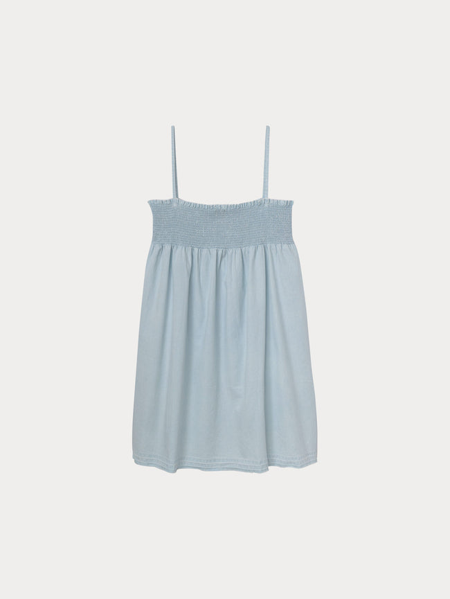 Layla Toddler Tank Dress | Bleach