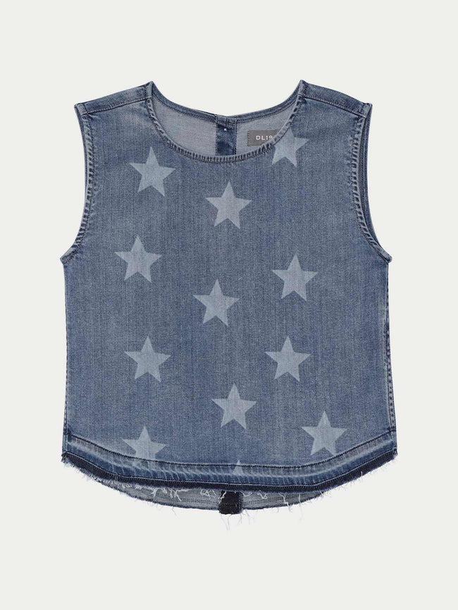 Leah Sleeveless Top | Indigo Star