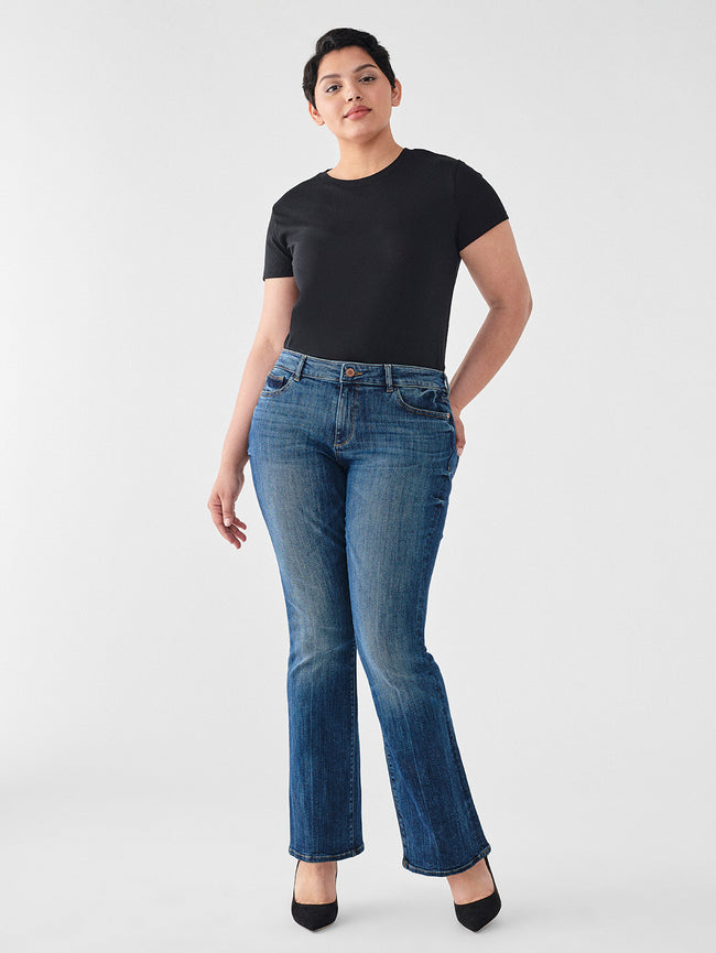 "Bridget 33"" High Rise Bootcut 