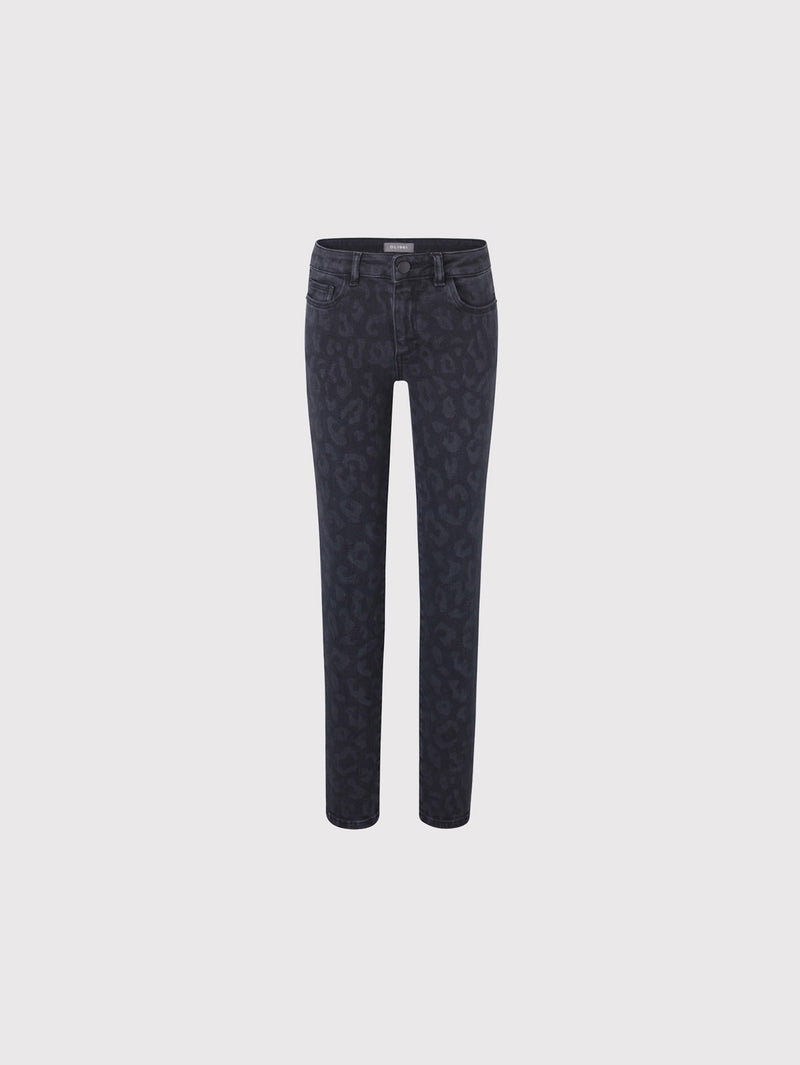 Chloe Skinny | Grey Chrome