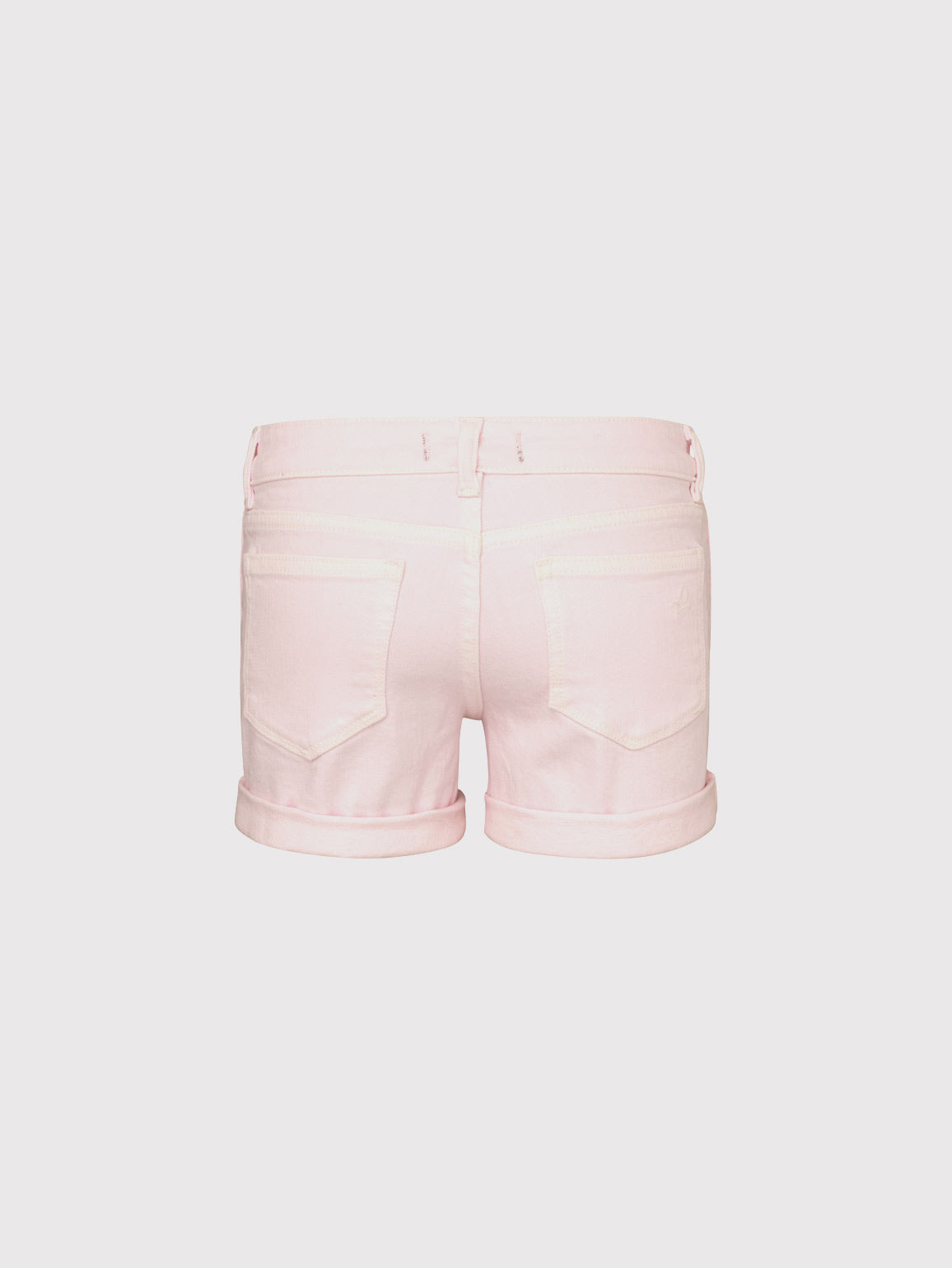 Piper Toddler Girls Cuffed Short | Pink Cloud