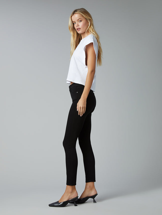 Florence Skinny Mid Rise Instasculpt Ankle | Hail