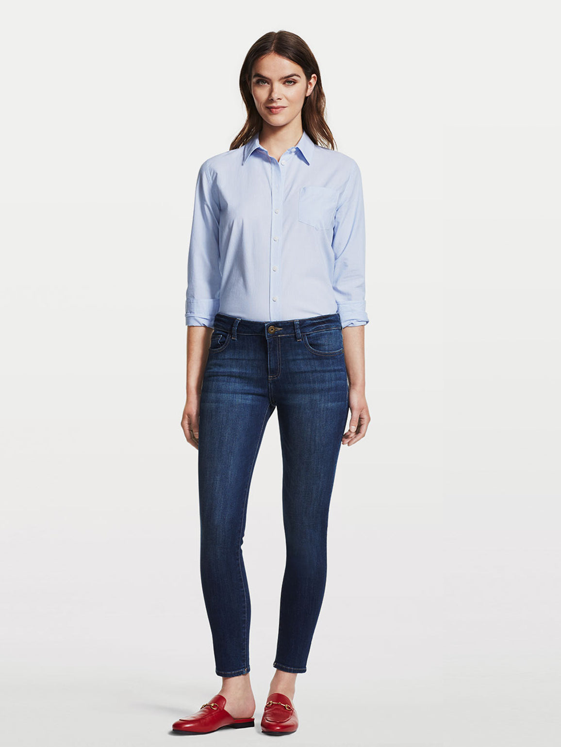 Image of Margaux Mid Rise Ankle Skinny / Winter