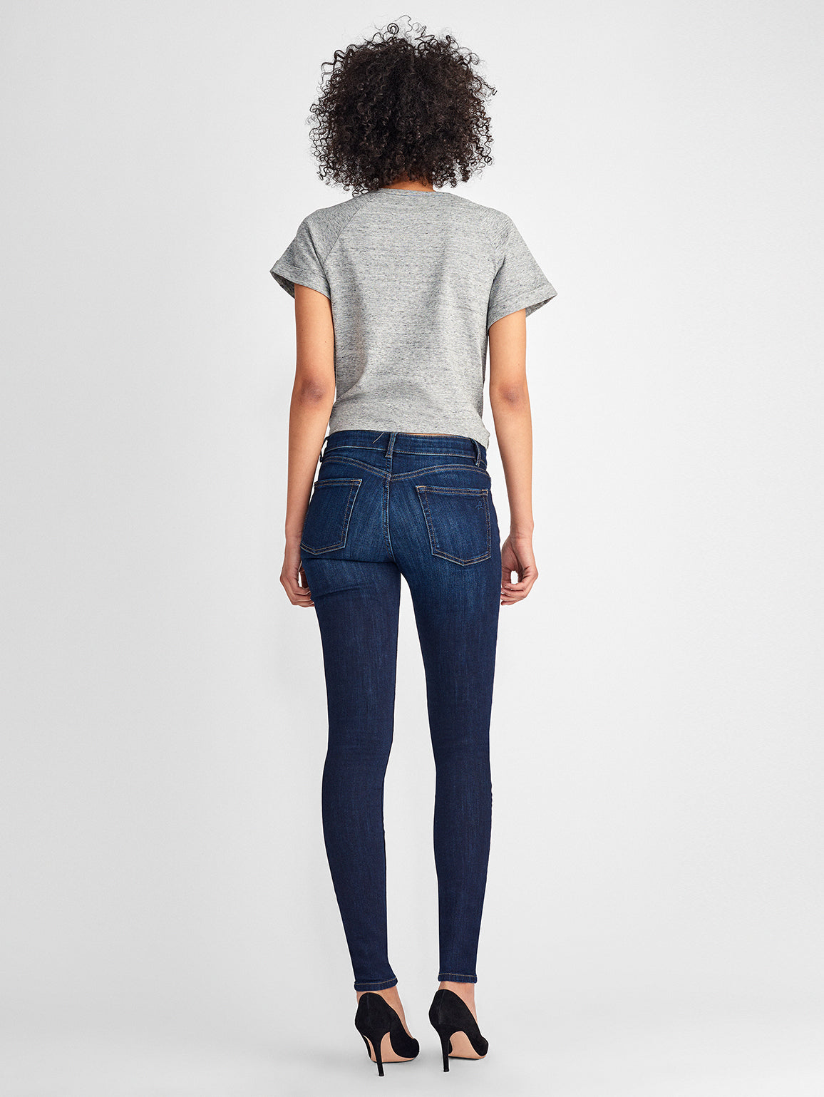 Danny Mid Rise Supermodel Skinny | Pulse DL 1961 Denim