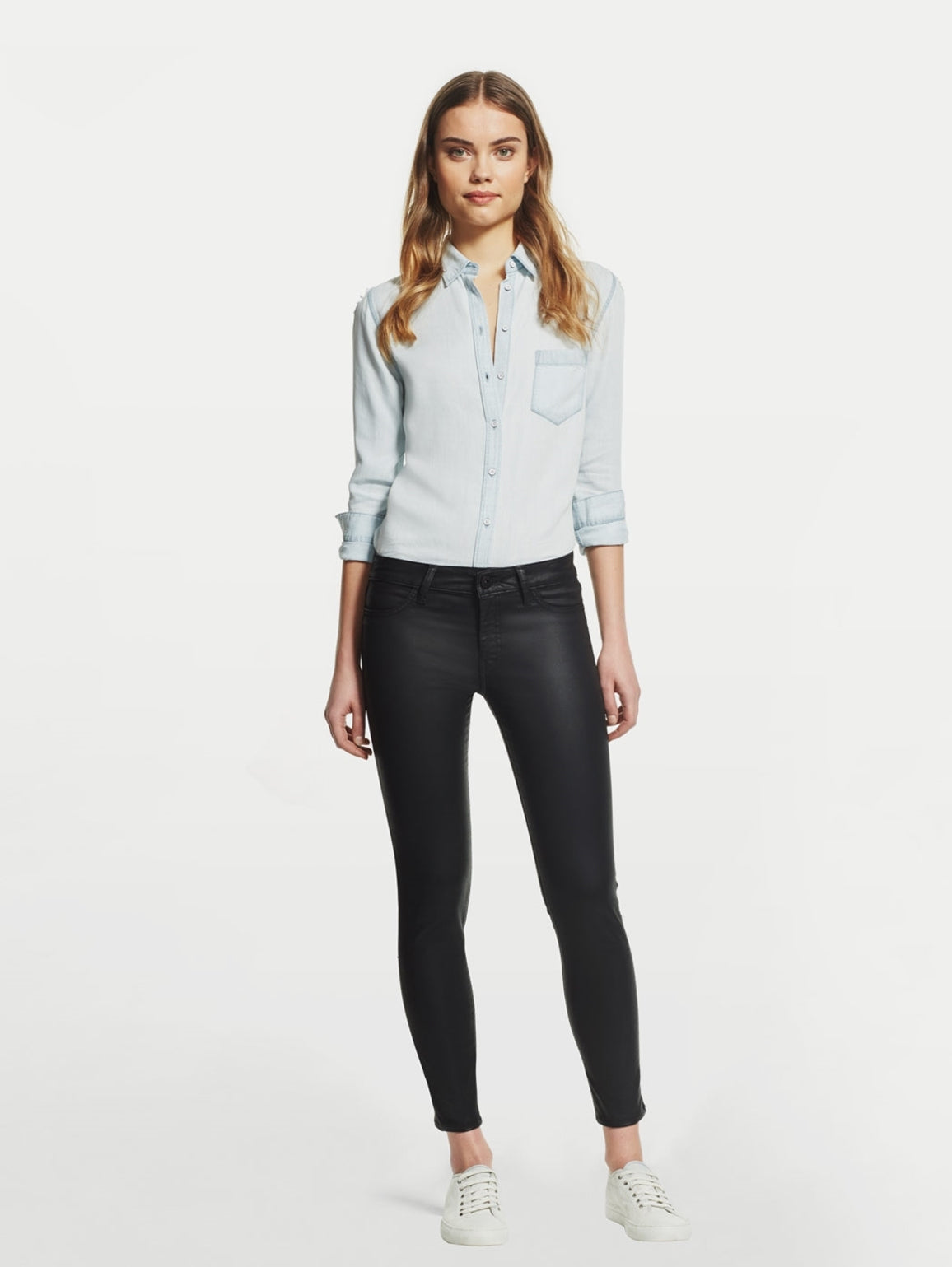 Image of Margaux Mid Rise Ankle Skinny / Spectre