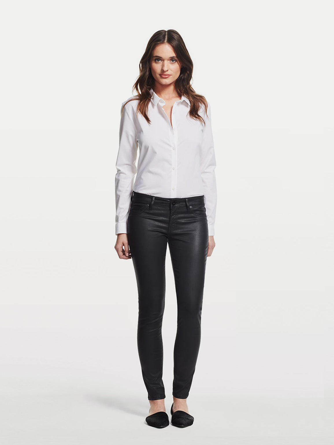 Image of Emma Low Rise Skinny / Char