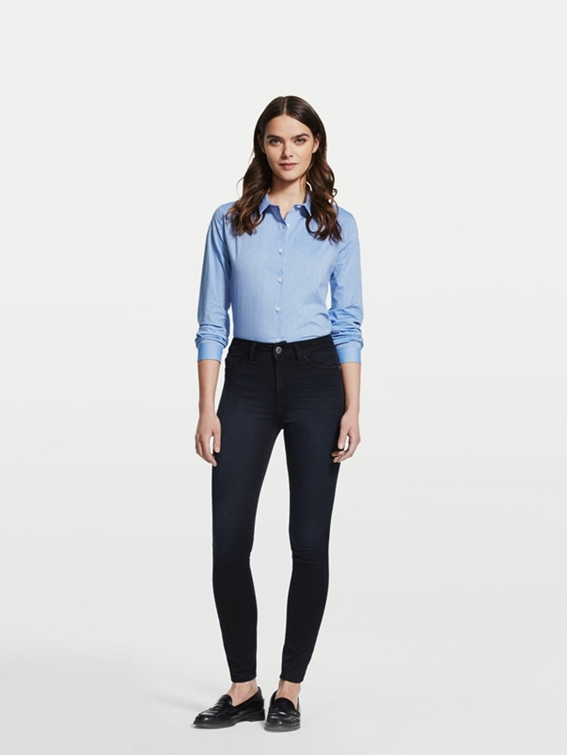 Image of Margaux Mid Rise Ankle Skinny / Dynamic
