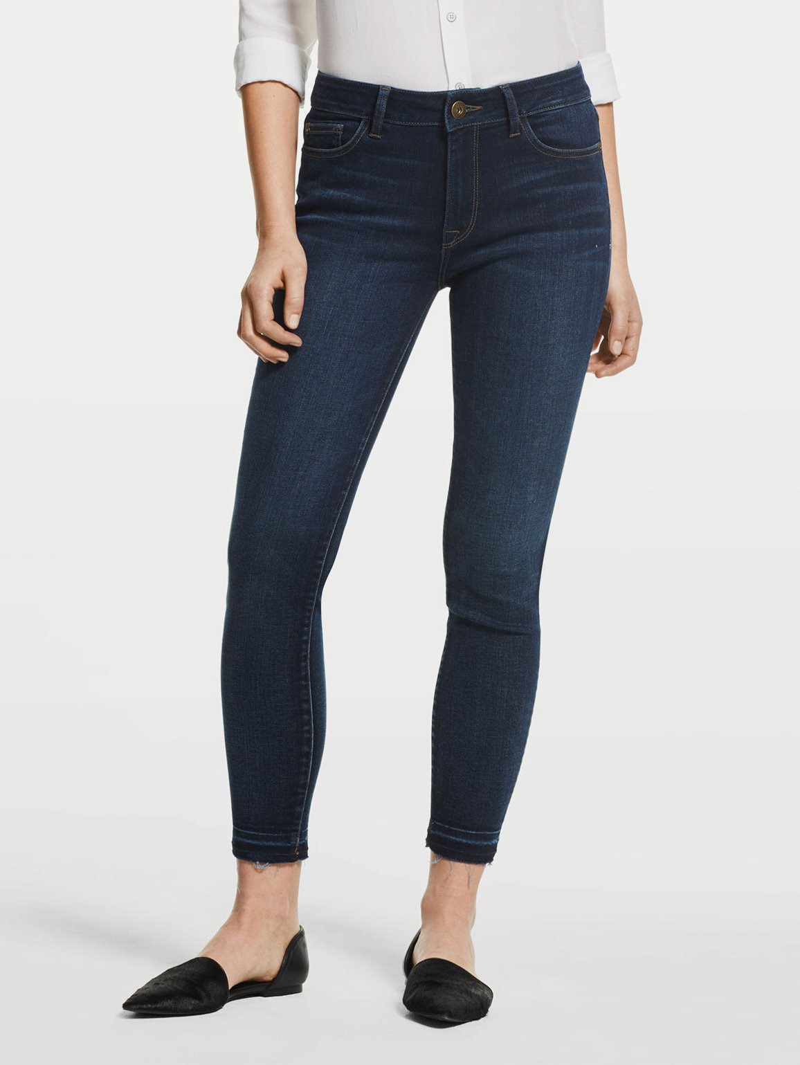 Image of Farrow Ankle High Rise Skinny / Wander