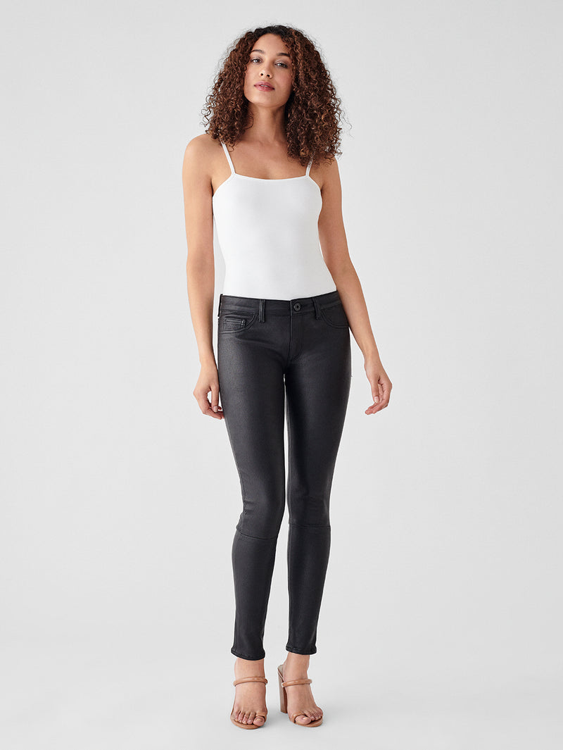Florence Mid Rise Skinny | Hail