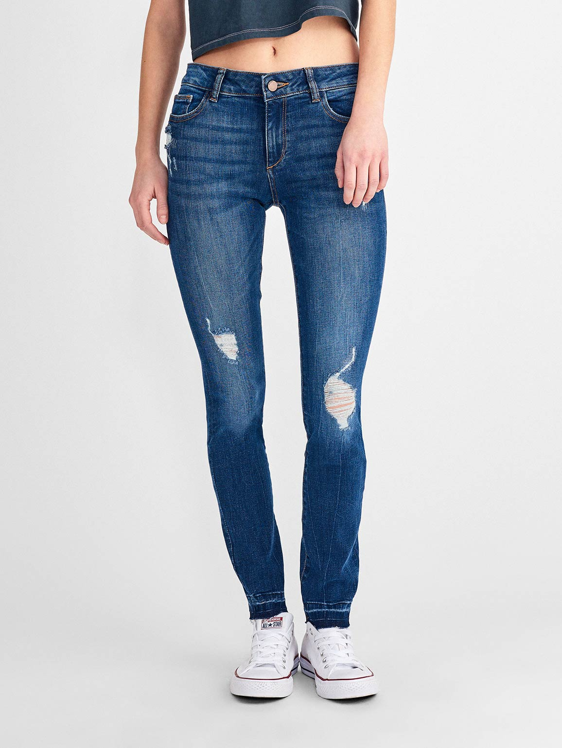 Image of Florence Mid Rise Skinny / Strive