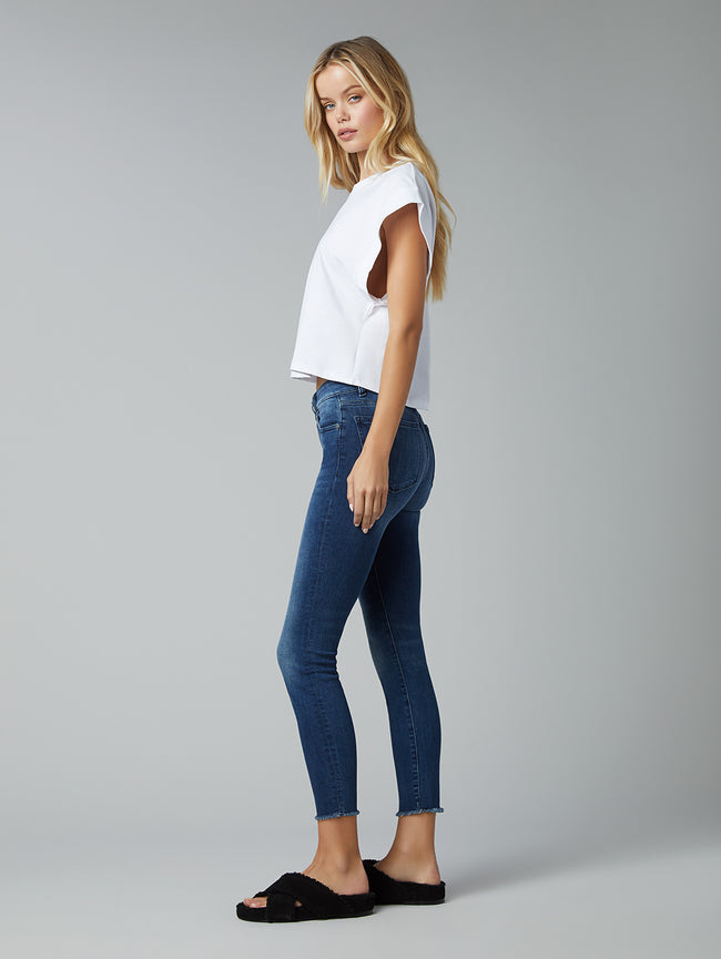 Florence Skinny Mid Rise Instasculpt Crop | Stranded