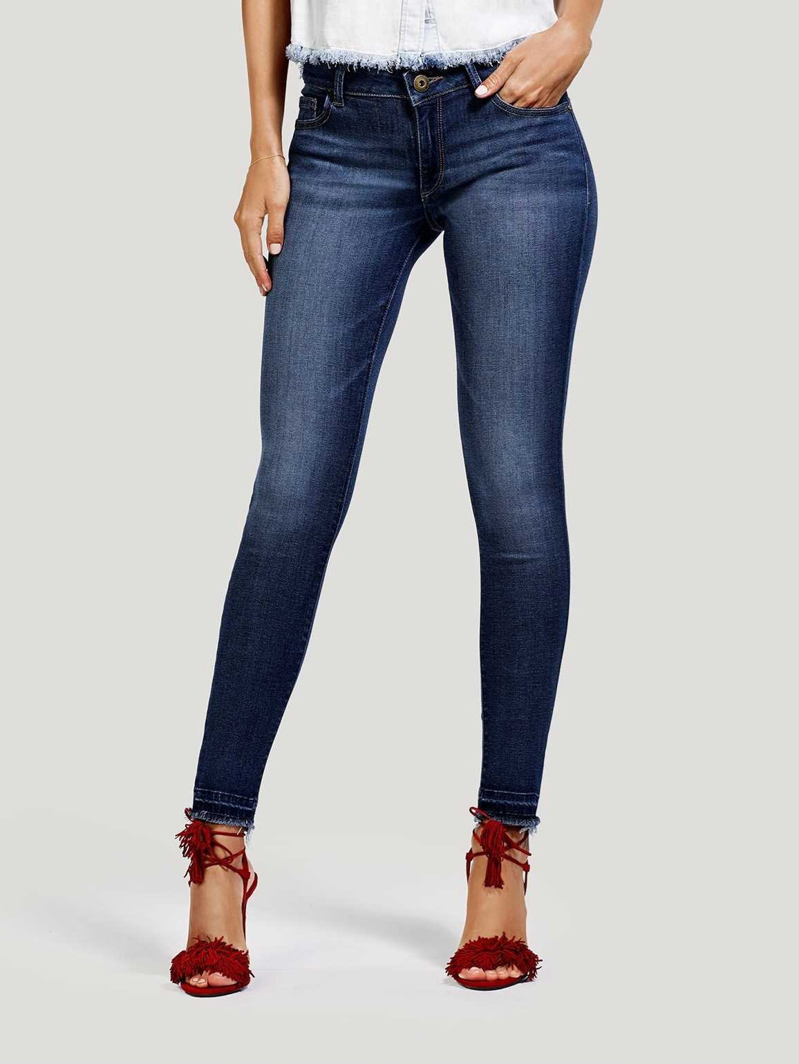 Image of Emma Low Rise Skinny / Quilter