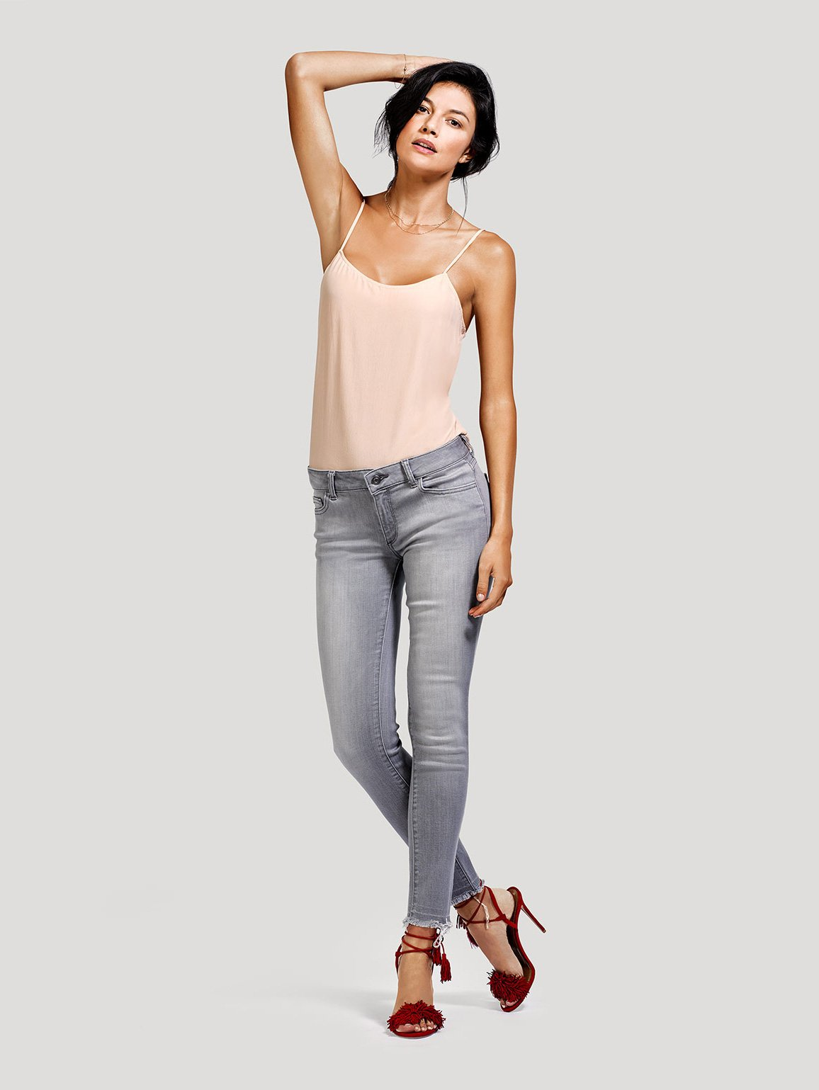 Image of Emma Low Rise Skinny / Cateye