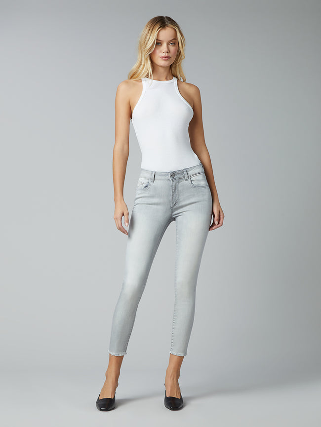 Florence Skinny Mid Rise Instasculpt Crop | Legendary