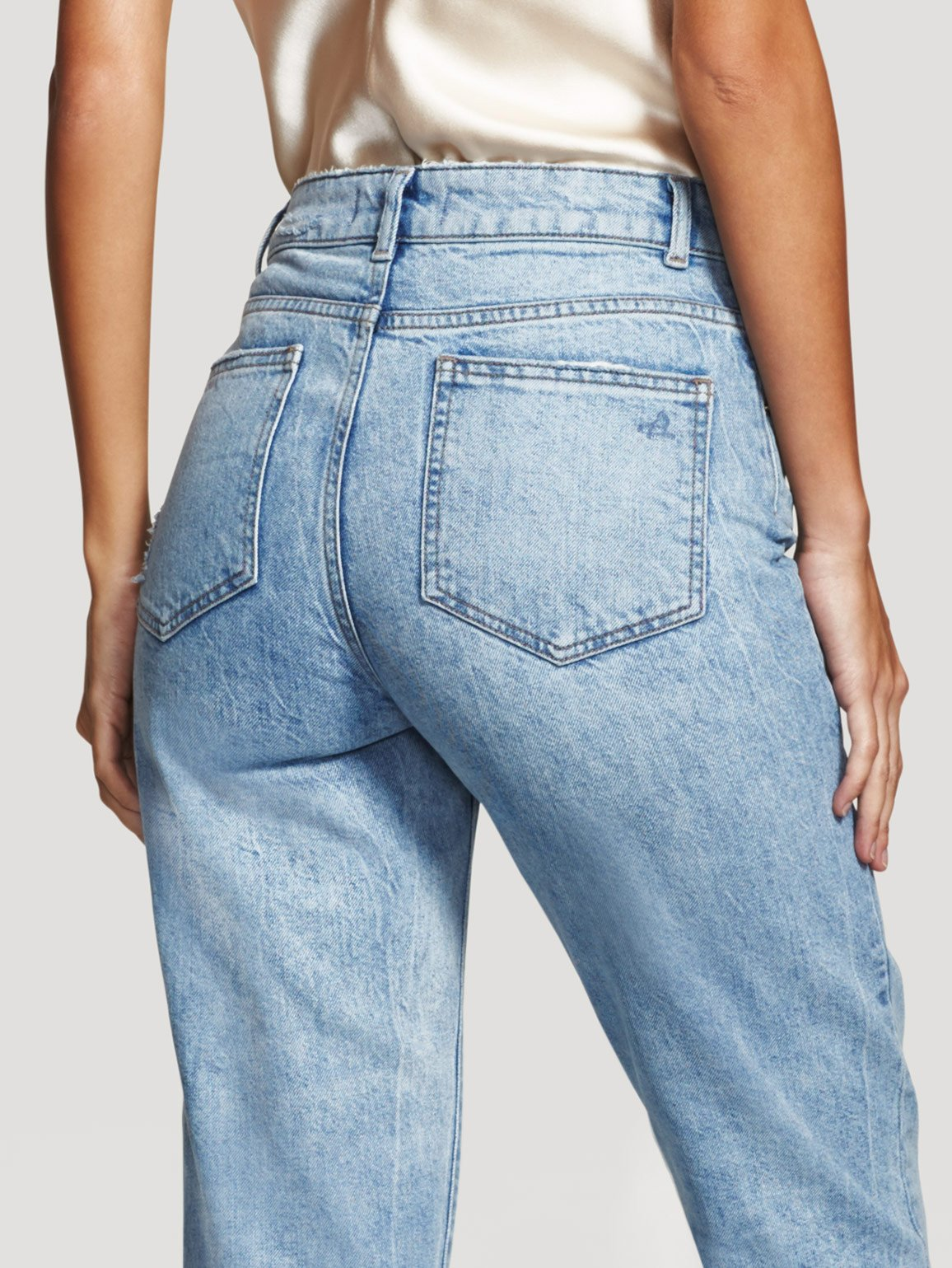 Women - Goldie High Rise Tapered Plunge - DL1961