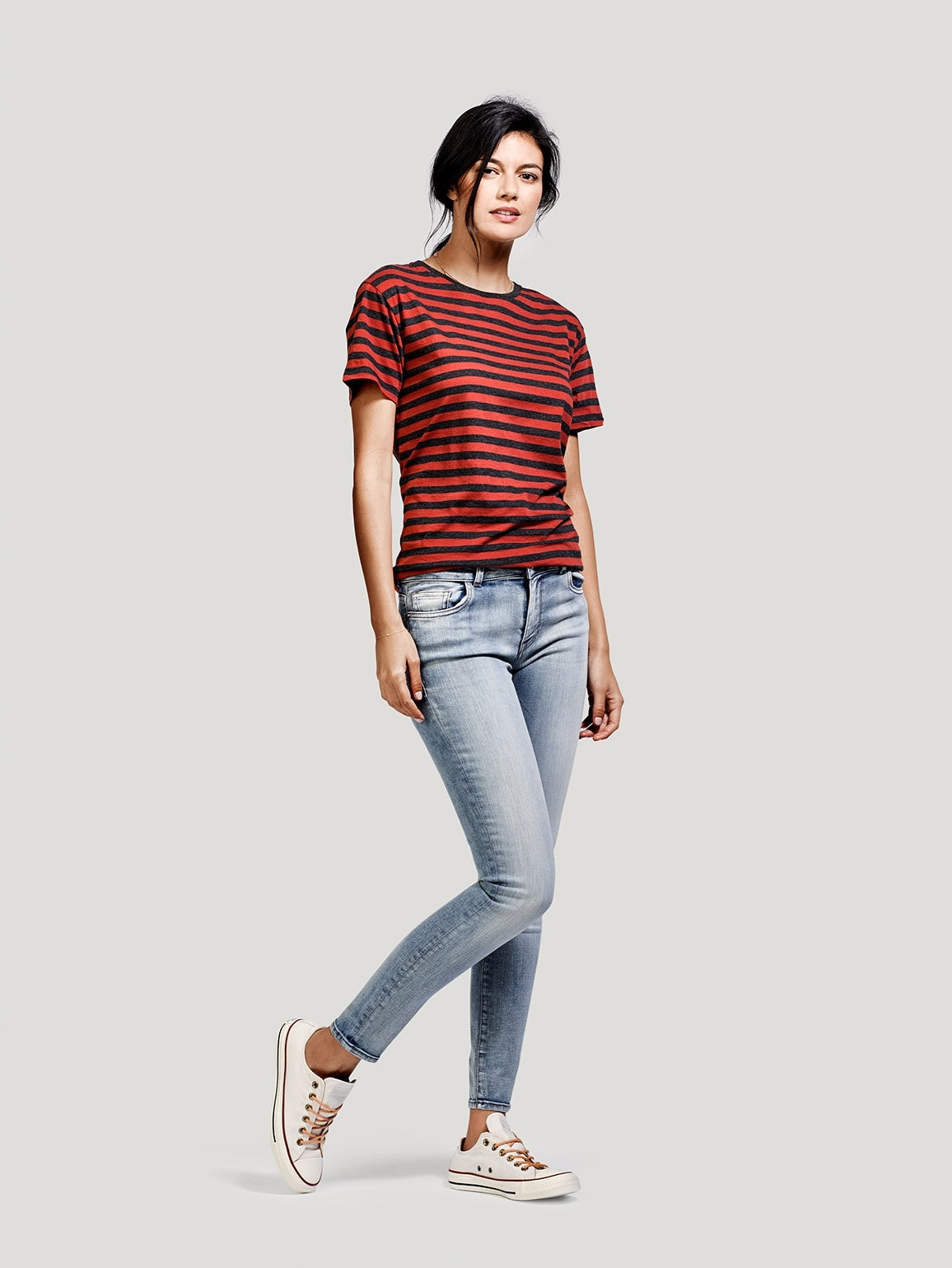 Image of Margaux Mid Rise Ankle Skinny / Spindle