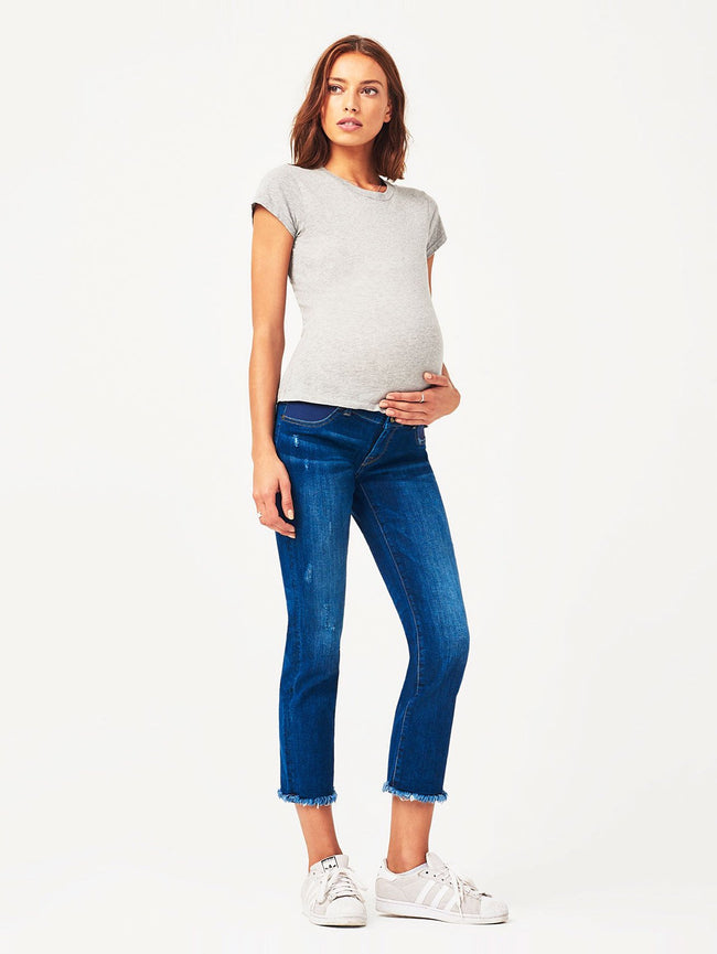 Women - Mara Maternity Straight Ankle Ravine - DL1961