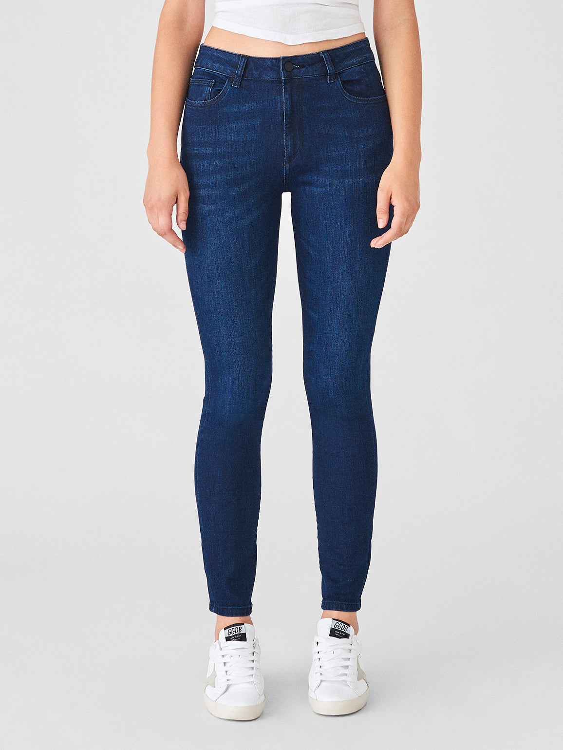 Image of Farrow Ankle High Rise Skinny / Equinox