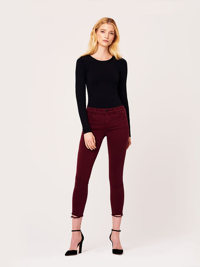 Women - Margaux Instasculpt Ankle Skinny Tawny Port - DL1961