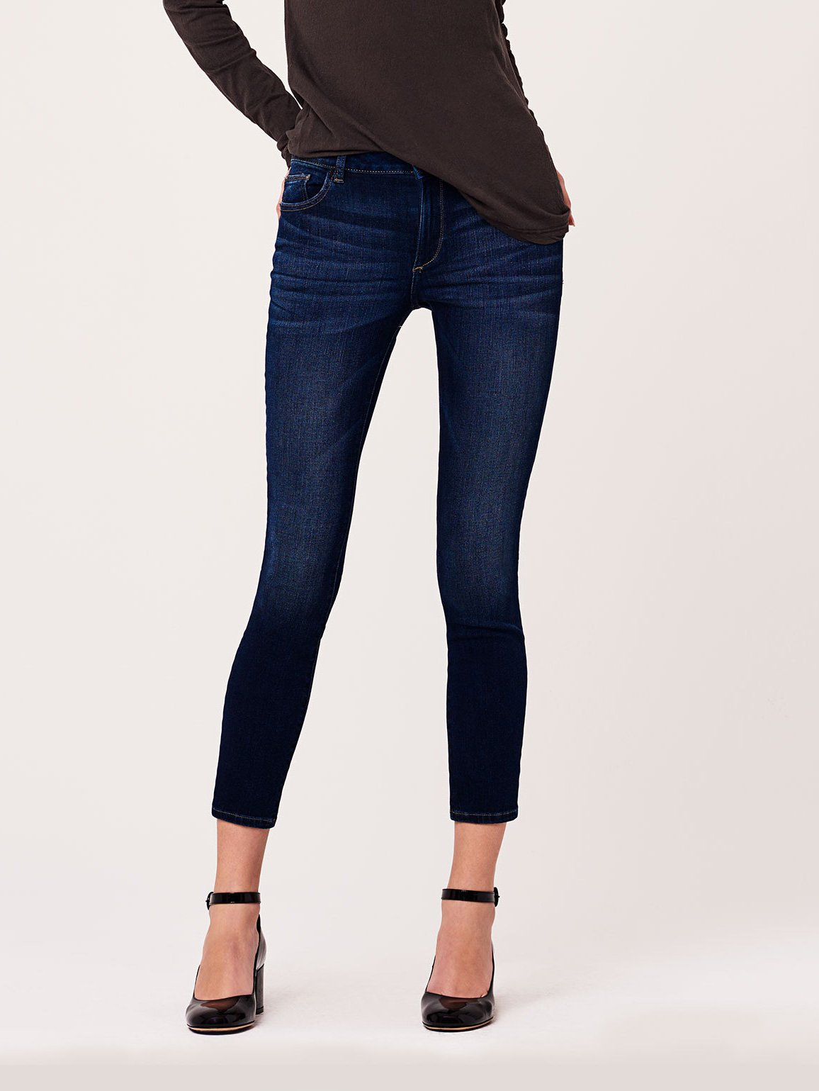 Margaux Mid Rise Ankle Skinny | Salt Creek